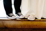 O sapato da noiva e donoivo