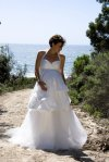Vestido de noiva paragrávidas