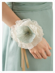fabric-corsage